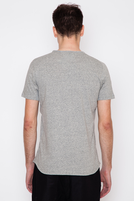 Wings + Horns Heather Grey Silk Jersey S/S T-Shirt