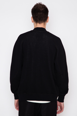 Wings + Horns Honeycomb Knit Bomber