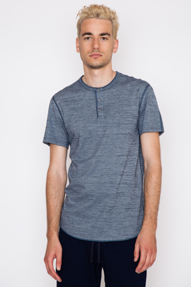 Reigning Champ Tiger Jersey S/S Henley