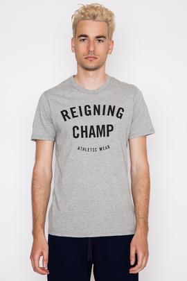 Reigning Champ Gym Logo S/S Crewneck T-Shirt