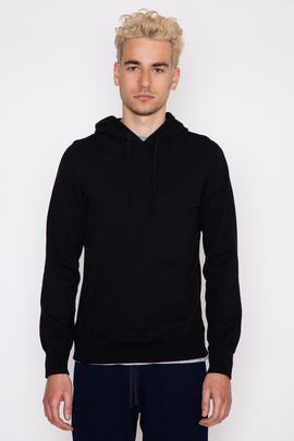 Reigning Champ Black Lightweight Terry Pullover Hoodie
