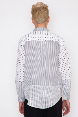 Henrik Vibskov Men's Nikolaj Block Print Shirt