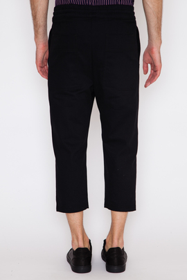 Wil Fry Denim Twill Cropped Trackpant