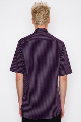 Wil Fry Twill Stripe S/S Utility Shirt