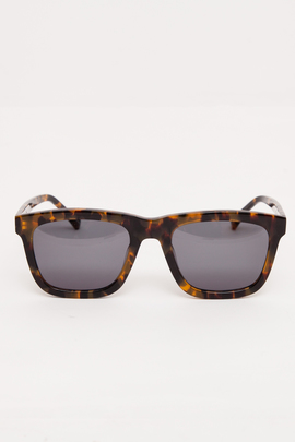 Karen Walker Crazy Tort Deep Freeze Sunglasses