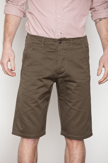 Wings + Horns - Olive West Point Chino Shorts